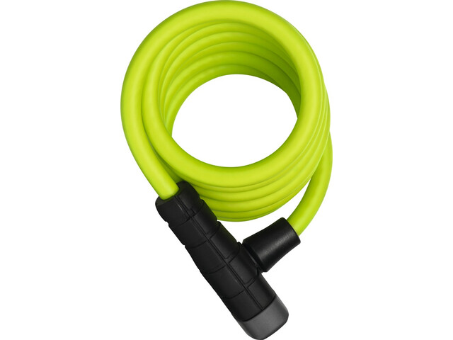 ABUS Primo 5510 Key Spiral Cable Lock 180cm SCMU, lime green